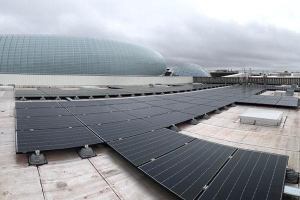 Centrale photovoltaïque toiture en autoconsommation Helexia Decathon Vélizy 3