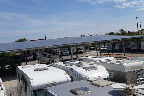 ombrières photovoltaïque en injection réseau nevian 4