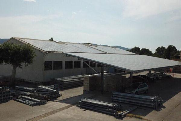 centrales photovoltaïques en injection réseau Helexia LMF1