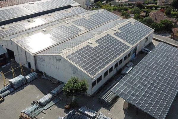 centrales photovoltaïques en injection réseau lumière de france helexia