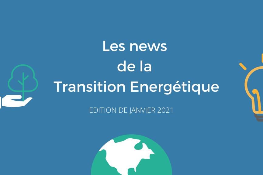 News Helexia Janvier – La Transition Energétique