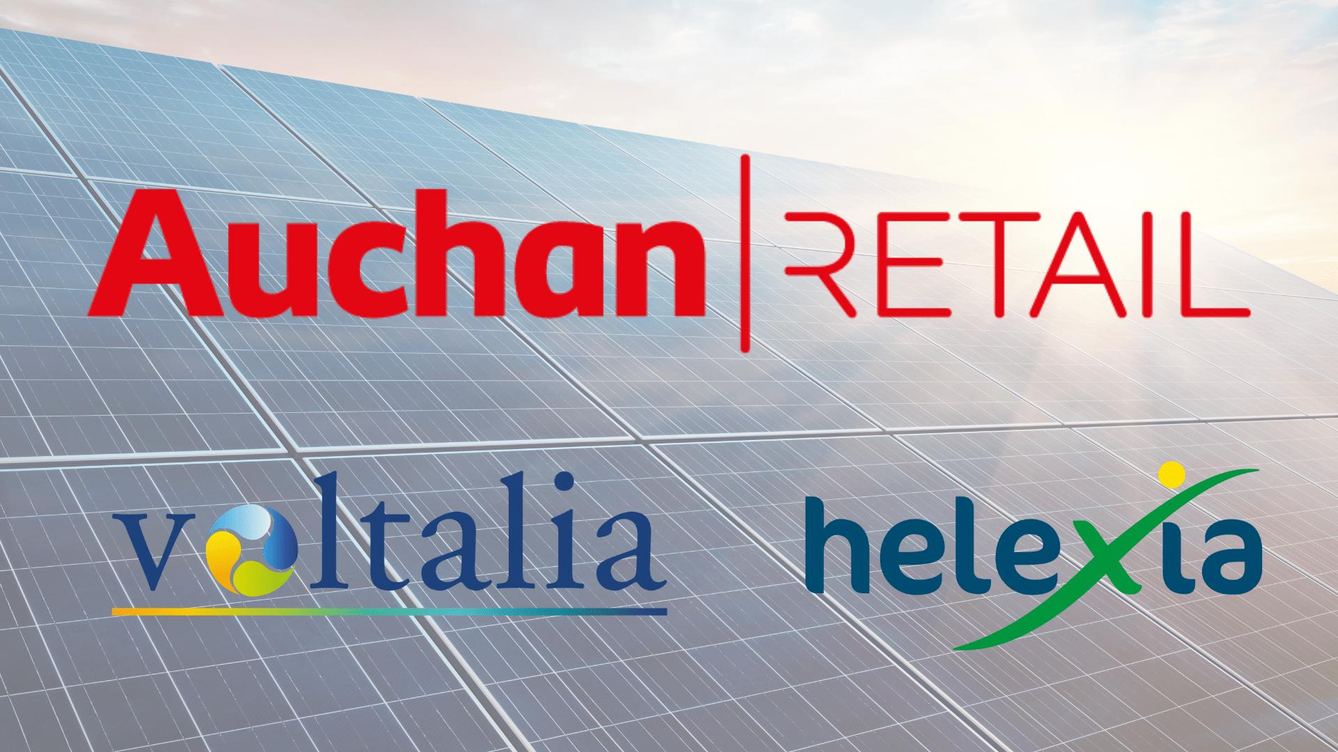 Partenariat Mondial Auchan Voltalia Helexia